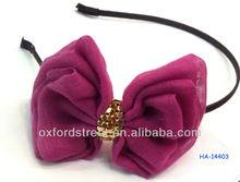 purple butterfly hair accessory