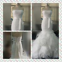 Lovely Latest Design Mermaid Wedding dress/Sheath wedding gown WBD003