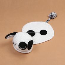 spotty dog Design Knit Child Hat Crochet Knitting Beanie Newborn Props Knitted Hat