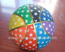 Exercise Colorful Rubber Basketball