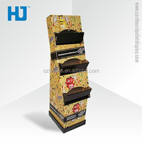M&M's Chocolate cardboard displays ,advertising pallets display stands for Chocolate