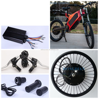 120km/h speed electric bike kit 5000 watt hub motor