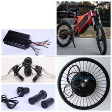 120km/h speed electric bike kit 5000 watt hub motor