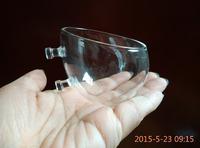 Hinterfeld Aquarium Fish Tank Glass Live Plant Cup Pot Crystal Red Shrimp Holder