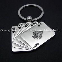 Macao casino pocker key chain /Guangzhou Cheap price key chain
