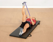 Latex resistance exercise loop bands for hands/ankles/legs training