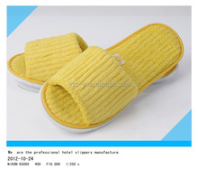 Hotel slippers and motel supplies professional manufacturer