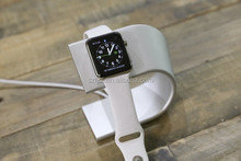 adorable charging holder/charging dock for aluminum apple watch stand ,cute aluminum display stand for apple watch