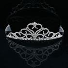 Moda de nova prata crysal da coroa da rainha tiara para a festa