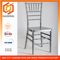 Resin Wood Chiavari Sillas Tiffany Chair