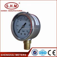 Bourdon tube 40mm oil pressure gauge bar