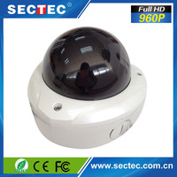 HD Fisheye IP Panoramic mini dome 1.3 megapixels cmos 360 degree car camera