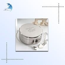 various shape decorative round custom printed gift food tin