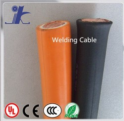 high flexible electric 70mm2 rubber / pvc sheath copper welding cable for welding machine