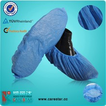 For industry and medical beauty salon use Disposable CPE Shoe Cover