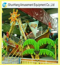 New fashion Carnival ride small pirate ship