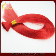 Bulk hair for wig making bulk hair dye color human hair extension bulk