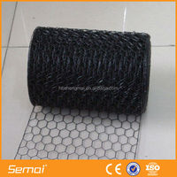 Galvanized and pvc coated 1/2 inch pvc coated hexagonal wire mesh(anpinhg ISO)
