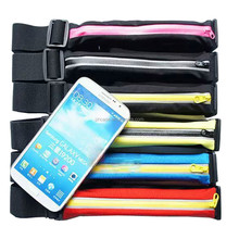 Close fitting waterproof sports bracelet running pouch