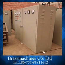 High capacity 360kw brass Rod Melting Channel Type Combined Furnace