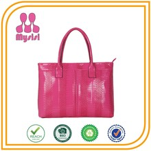 Online Shopping New Style Famous Brand Snake Skin Tote Designer Handbags Wholesale China Supplier