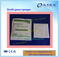High quality medical hemostatic sterile compress gauze