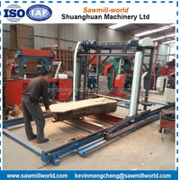 Large Size Timber Cutting Chain Saw Machine Electric Chainsaw Mill Gasoline Chain Sawmill