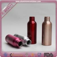 15ml colored mini aluminum perfume empty bottle with flower cap