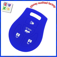 Top quality universal remote control cover, protective silicone car key case