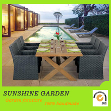 Fashionable Coffee Rattan Garden Furniture