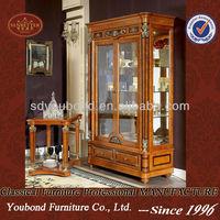 European High end design Neo-Classic antik furniture 0029 wooden showcase
