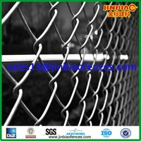 Alibaba China decorative black vinyl coated chain link fence for sale