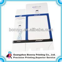 Gitf PVC window packaging box printing