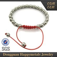 Simple Style Custom Logo Couples Love Bracelet With Sgs Certification