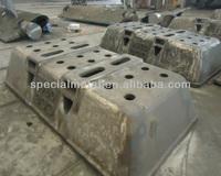 GS16Mn5 Resin-bonded sand casting Dross Pot