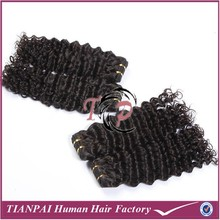 wholesale distributors virgin peruvian hair jerry curl weave extensions human deep wavy curly peruvian hair weft