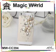 Jewelry crystal diy mobile phone cover