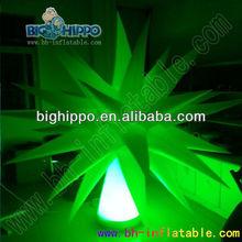 kinds sizes white decoration led light inflatable star