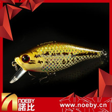 Wholesale China Weihai MANUFACTURER Noeby 60mm 6.5g fishing tackle hard minnow floating fishing lure