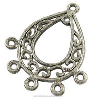 Tibetan Silver Drop Charm Earring Findings Jewelry Making Chandeliers