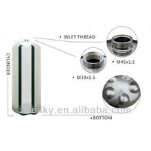 Stainless steel fire extinguisher cylinder