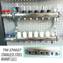 underfloor heating manifold floor heating system stainless steel manifolds
