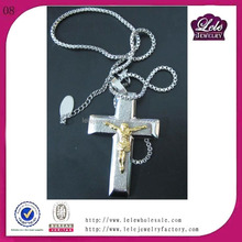 fashion accesoriesYellow Gold Plated Religion Cross Pendant