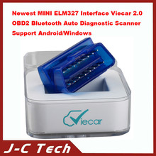 top quality for Newest MINI ELM327 Interface Viecar 2.0 OBD2 Bluetooth Auto Diagnostic Scanner Support Android/Windows