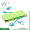 Colorful 5000mah Dolink best Power Bank for mobile phone charging with CE,Rohs