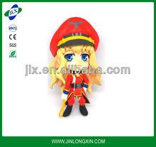 DIY assembled plastic anime miniature, big head cartoon character figurine