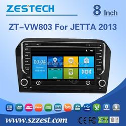 High quality car GPS multimedia system for VW JETTA 2013 with car dvd,bt,3g,wifi,swc,radio,rds
