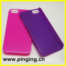 PC colorful 2012 new cell phone case for ipone5