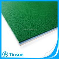 6mm thickness green indoor pvc floor for badminton court