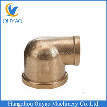 brass elbow fitting, brass reducing elbow ,threaded brass pipe elbow factory direct